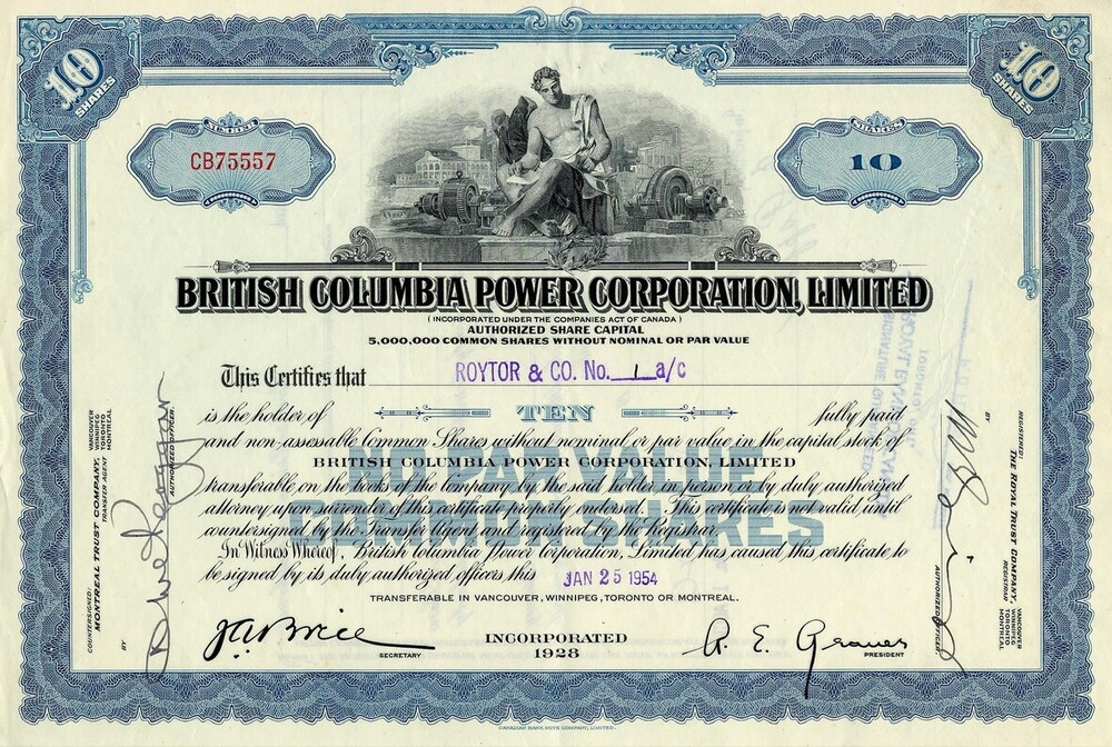 British Columbia Power Corporation Limited