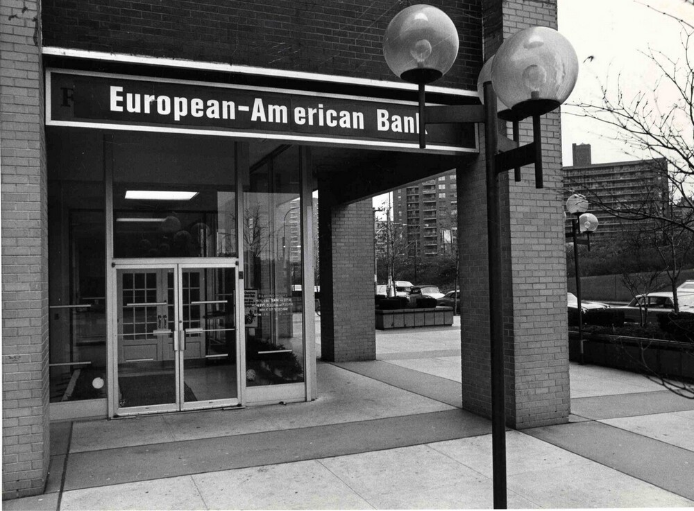 Verenigde Staten, New York, European-American Bank