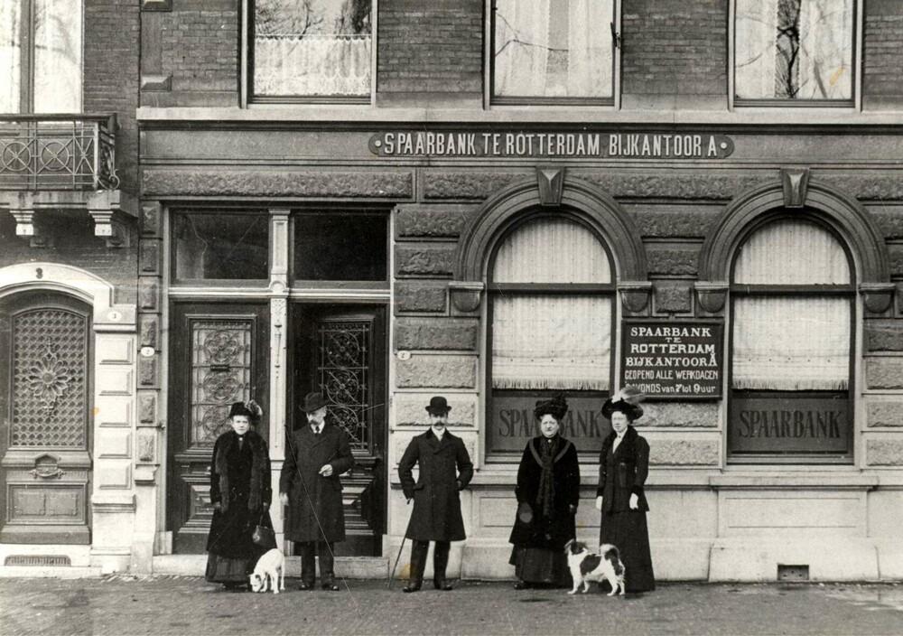 Bijkantoor A Spaarbank te Rotterdam, Schiedamse Singel 2, Rotterdam