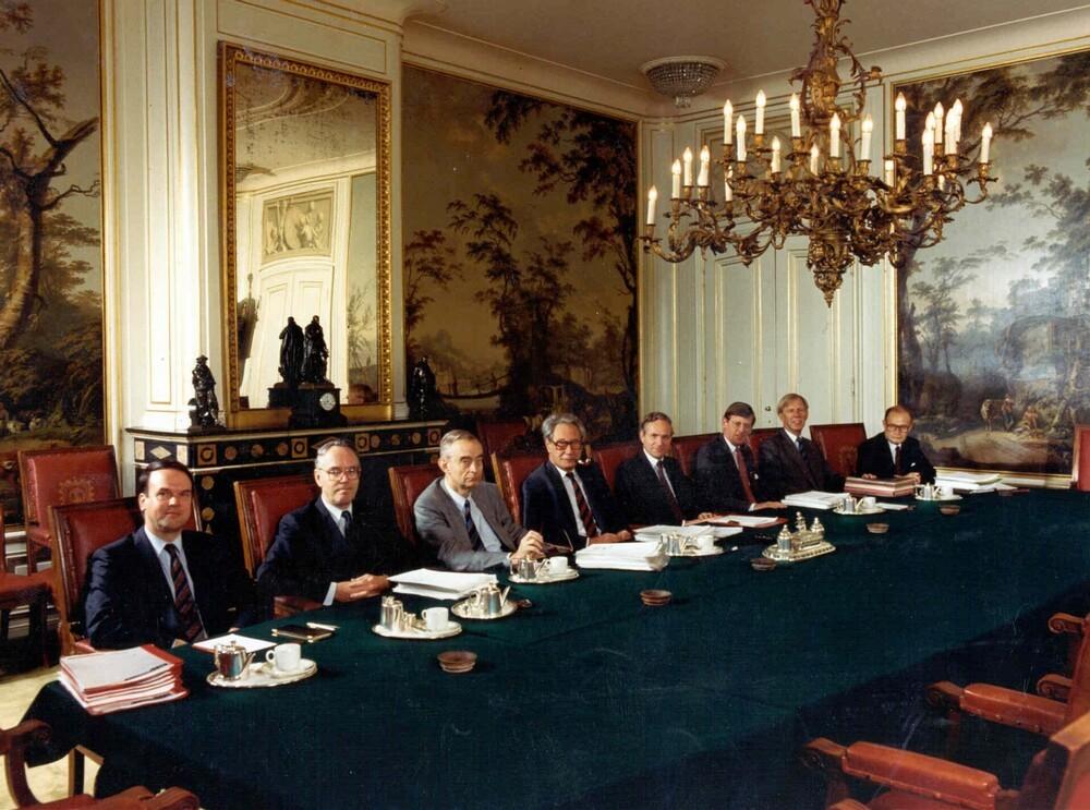 ABN Raad van Bestuur vergadert in de Oude Vergaderzaal