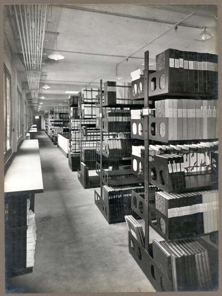 Amsterdam, Vijzelstraat 32: archiefruimte