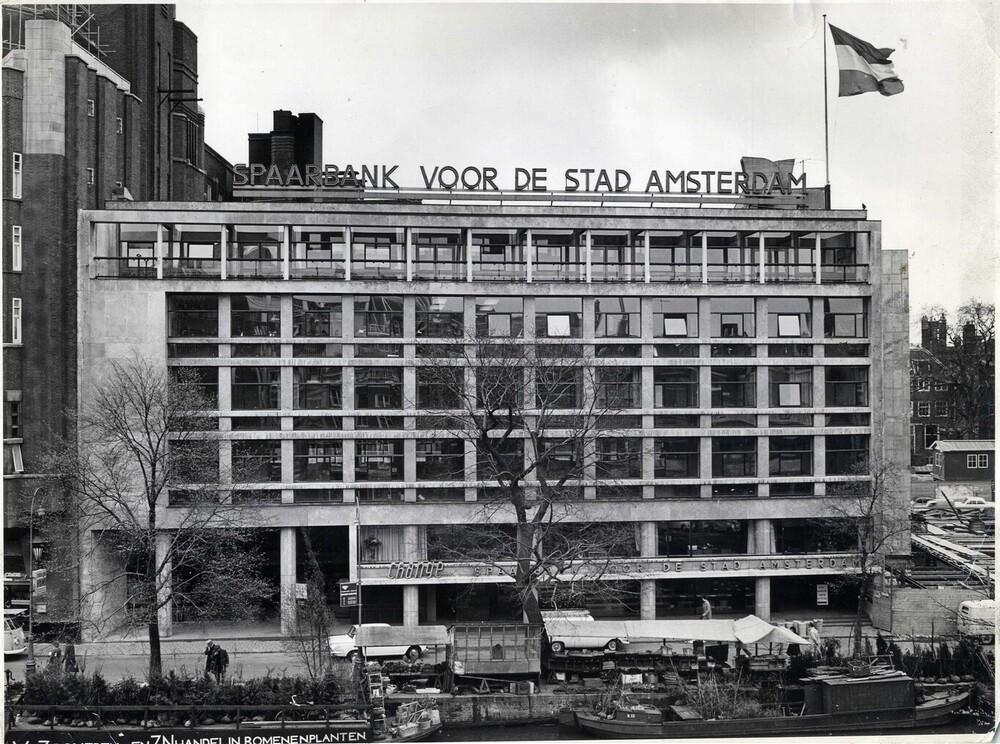 Spaarbank voor de Stad Amsterdam, Singel 544-546, Amsterdam