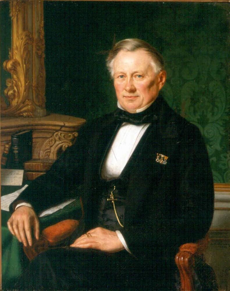 Louis Mathieu Frédéric Plate, president van de Factorij