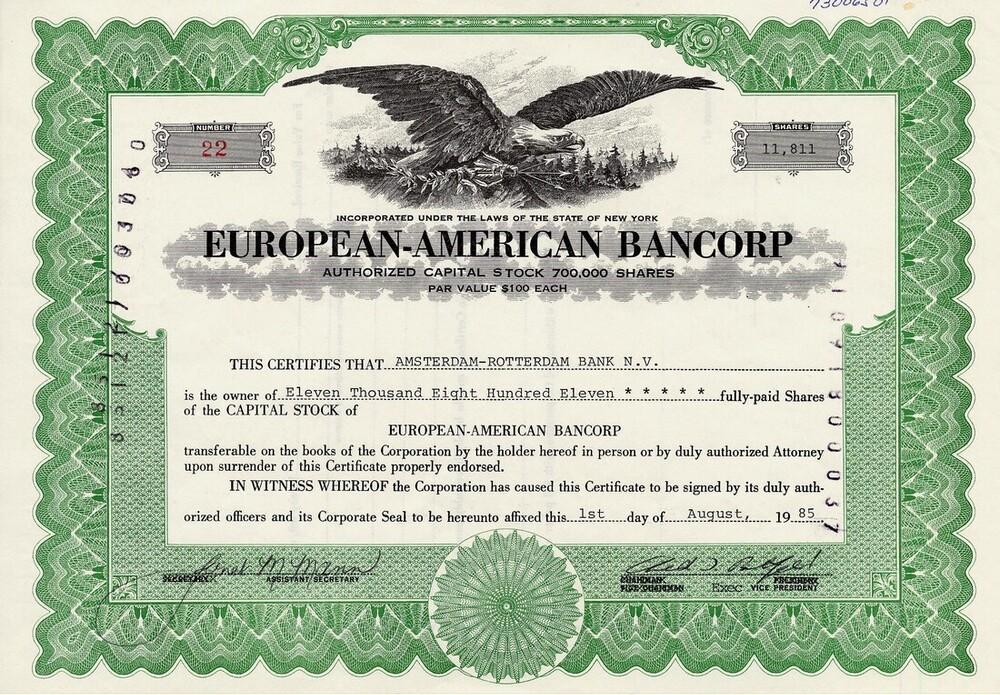 European-American Bancorp