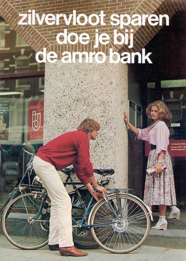 Zilvervloot sparen doe je bij de Amro Bank