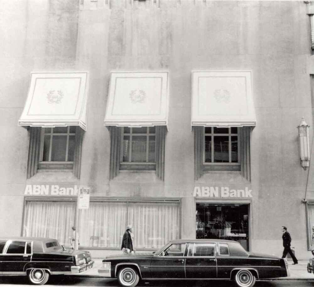 ABN Bank: 301 Park Avenue, New York (Waldorf Astoria Hotel)