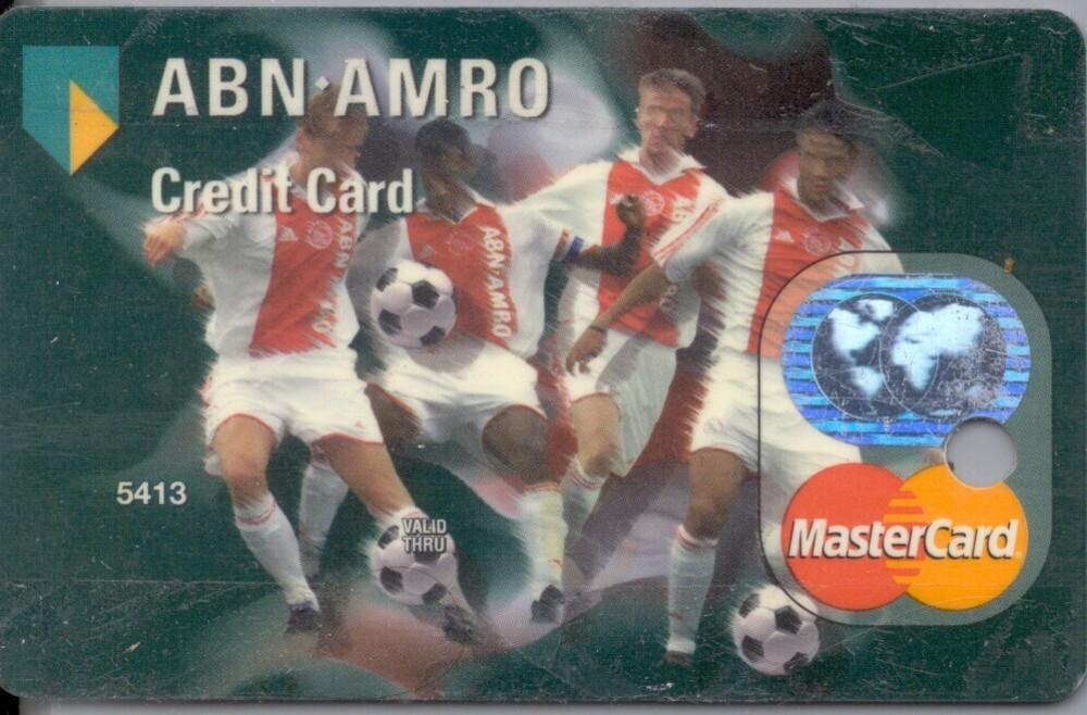 ABN AMRO credit card met Ajax spelers