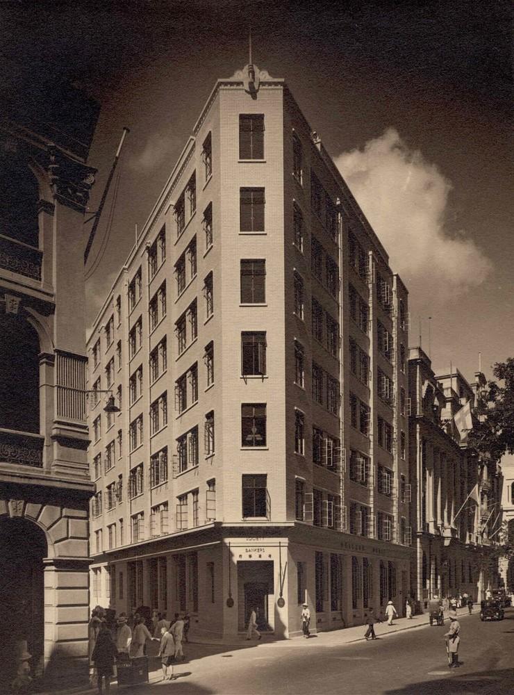 Hong Kong, Queen's Road 9 (Holland House): ingebruikneming nieuw kantoorgebouw
