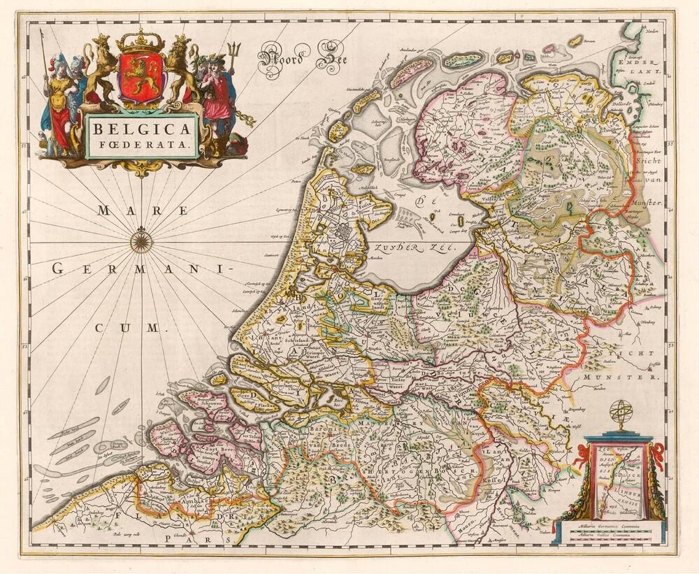 (Blaeu atlas) Groote atlas of Atlas Maior