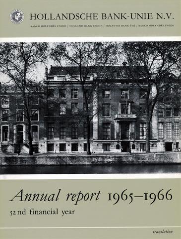 Hollandsche Bank-Unie 1965
