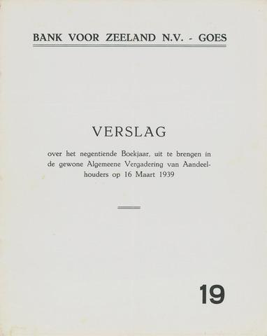 Bank voor Zeeland 1938