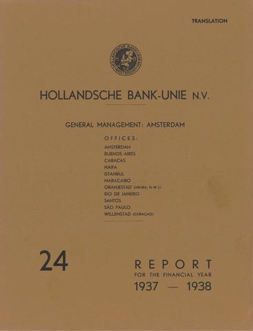 Hollandsche Bank-Unie 1937