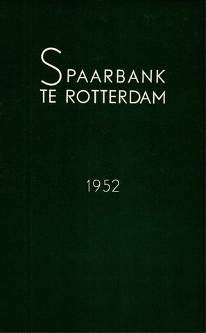 Spaarbank te Rotterdam 1952