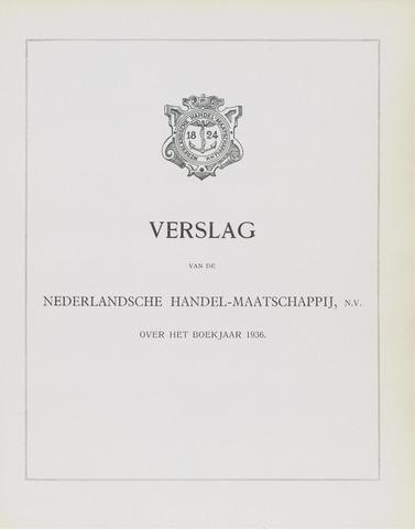 Nederlandsche Handel-Maatschappij 1936