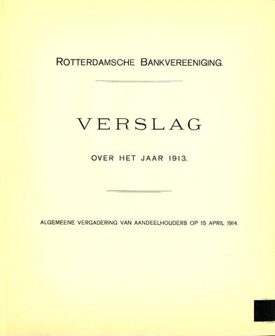 Rotterdamsche Bank 1913