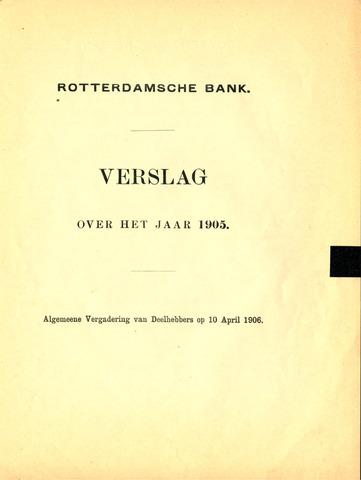 Rotterdamsche Bank 1905
