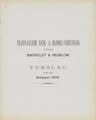 Transvaalsche Bank- en Handelsvereeniging 1902