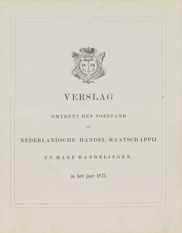 Nederlandsche Handel-Maatschappij 1875