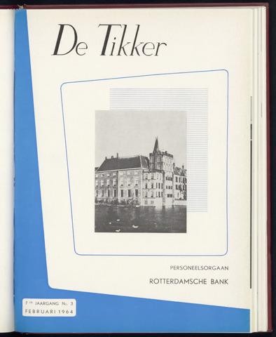 Rotterdamsche Bank - De Tikker 1964