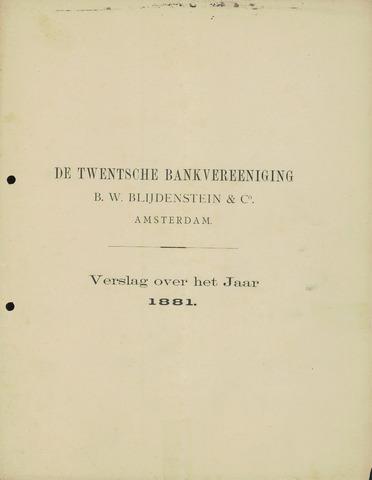 Twentsche Bank 1881