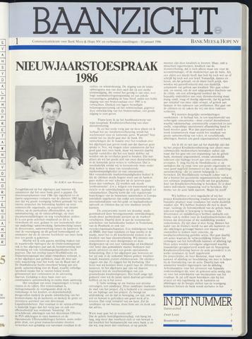Bank Mees & Hope - Baanzicht 1986