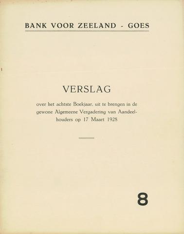 Bank voor Zeeland 1927