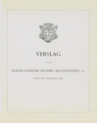 Nederlandsche Handel-Maatschappij 1938