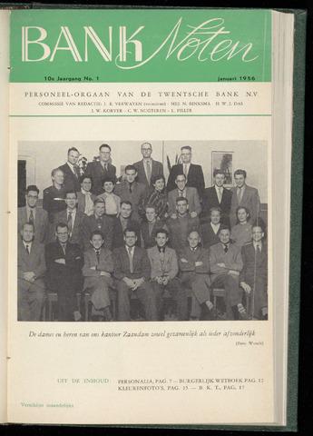 De Twentsche Bank - Banknoten 1956