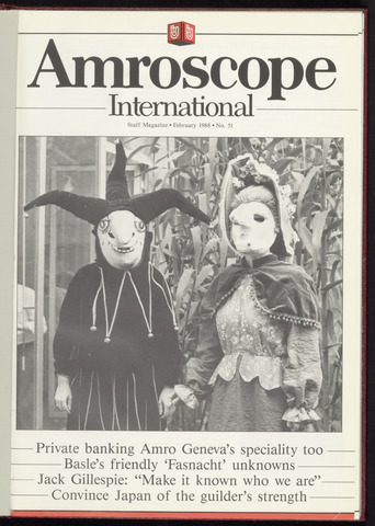 Amro Bank - Amroscoop International 1988