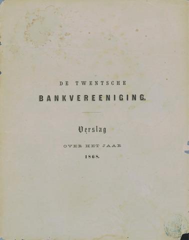 Twentsche Bank 1868