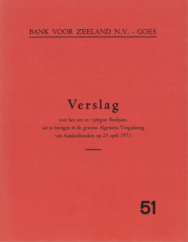 Bank voor Zeeland 1970