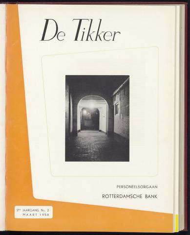 Rotterdamsche Bank - De Tikker 1958
