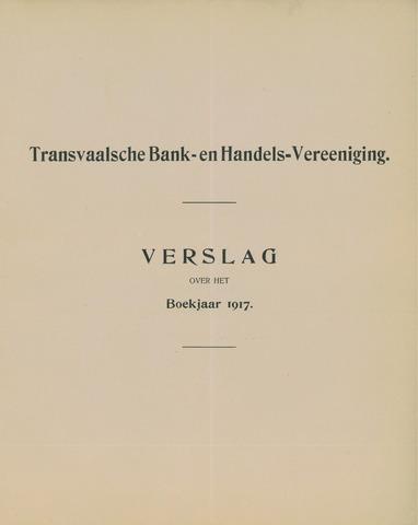 Transvaalsche Bank- en Handelsvereeniging 1917
