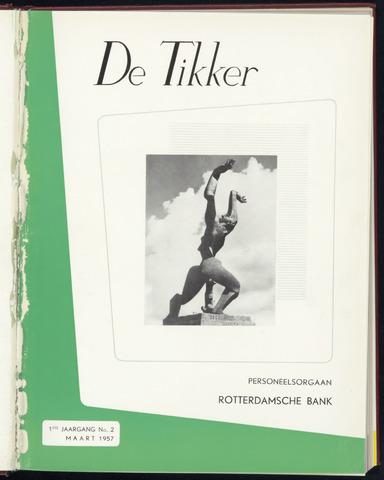 Rotterdamsche Bank - De Tikker 1957