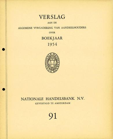 Nationale Handelsbank 1954