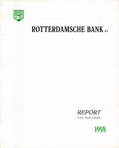 Rotterdamsche Bank 1958