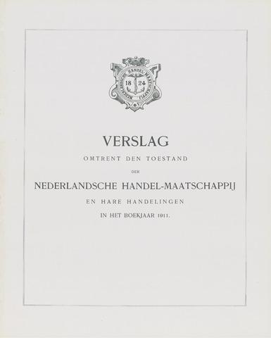 Nederlandsche Handel-Maatschappij 1911