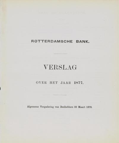 Rotterdamsche Bank 1877