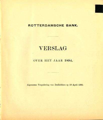 Rotterdamsche Bank 1894