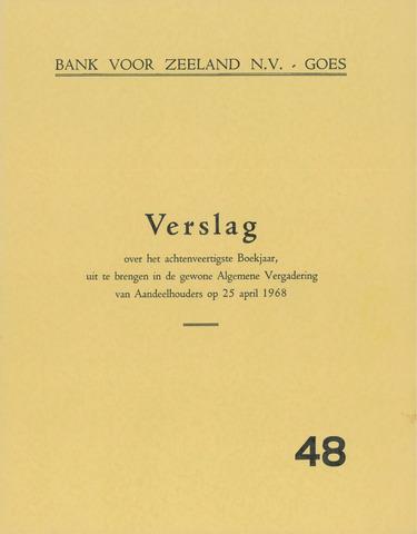 Bank voor Zeeland 1967