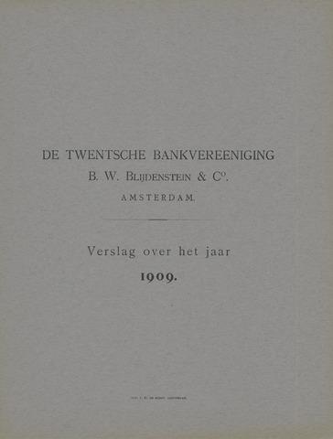 Twentsche Bank 1909