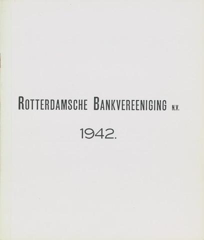 Rotterdamsche Bank 1942