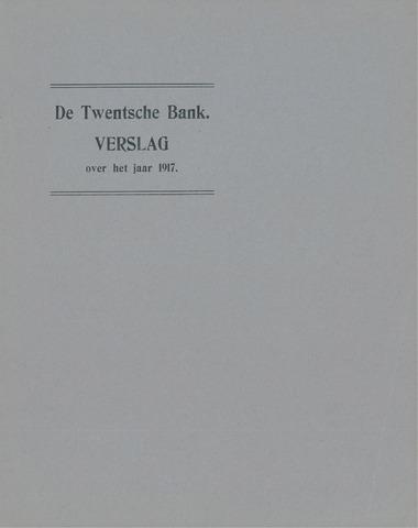Twentsche Bank 1917
