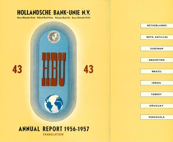 Hollandsche Bank-Unie 1956