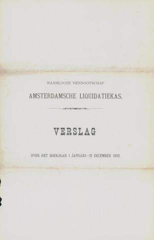 Amsterdamsche Liquidatiekas - Amsterdamsche Goederenbank 1892-01-01