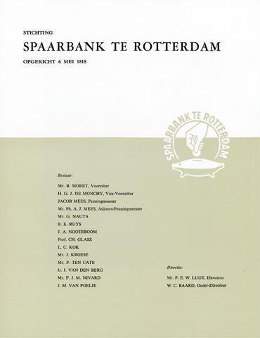 Spaarbank te Rotterdam 1960