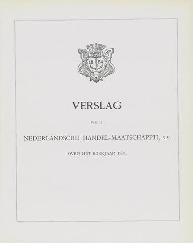 Nederlandsche Handel-Maatschappij 1934
