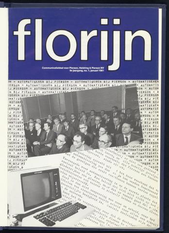 Pierson, Heldring & Pierson - Florijn 1981