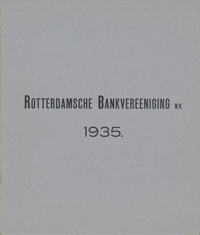 Rotterdamsche Bank 1935