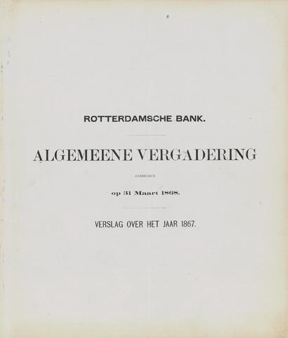 Rotterdamsche Bank 1867